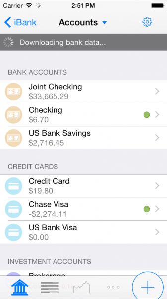 ibank for iphone update