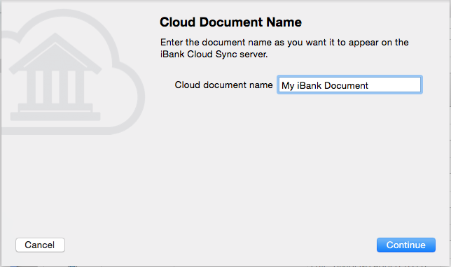 iBank Cloud Sync