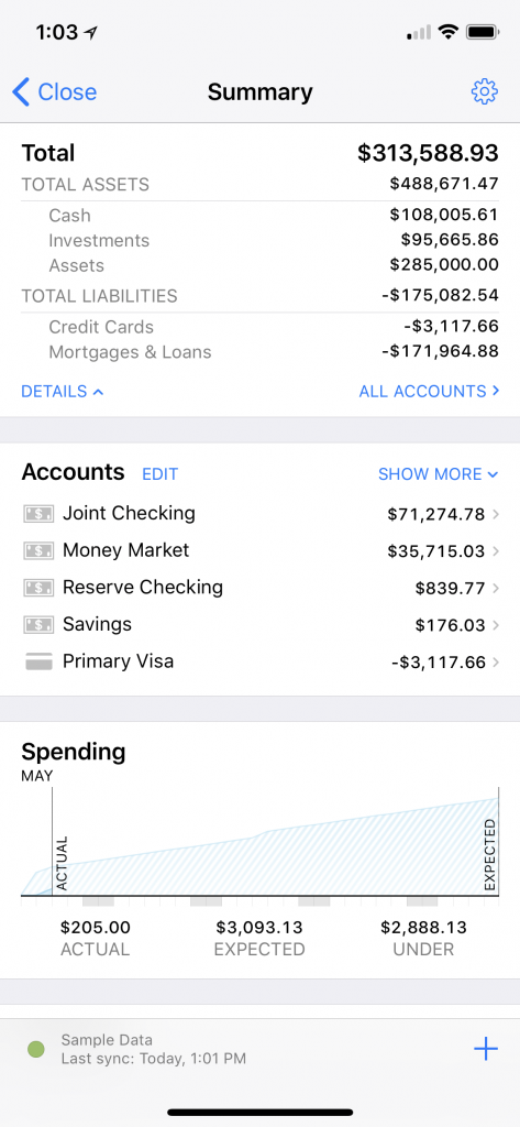New Features for Banktivity for iPhone