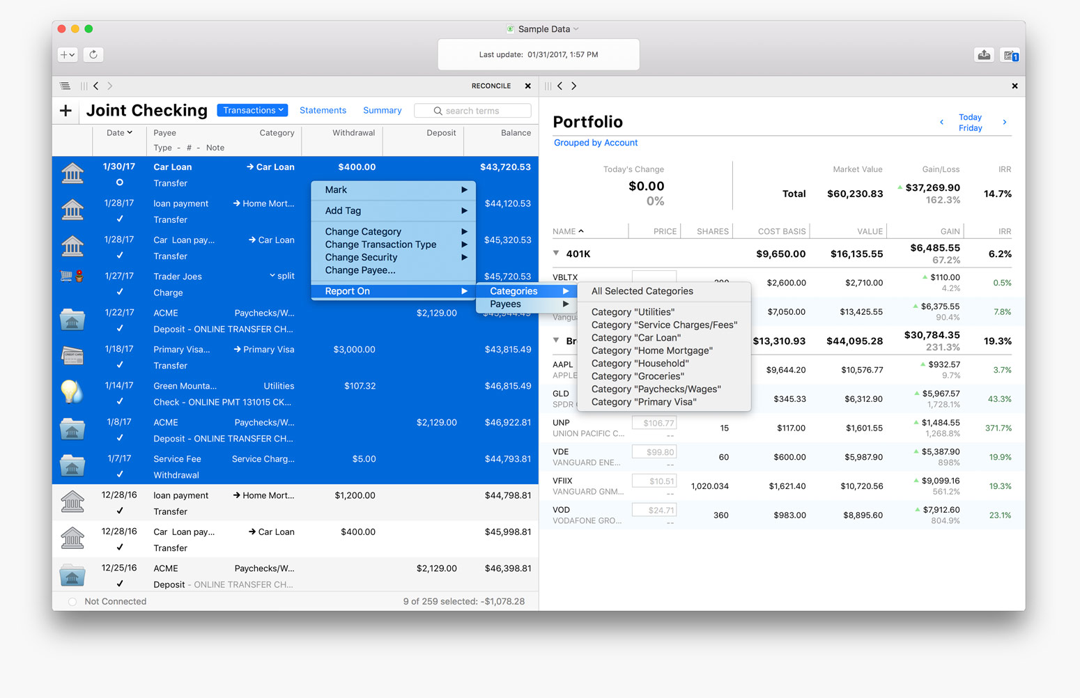The Mac Personal Finance Software For Meet Banktivity - Free excel invoice template mac official ugg outlet online store