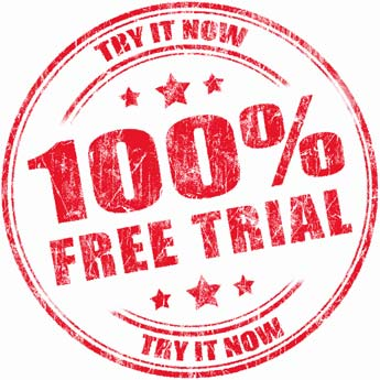 100% free trial. Try it now!
